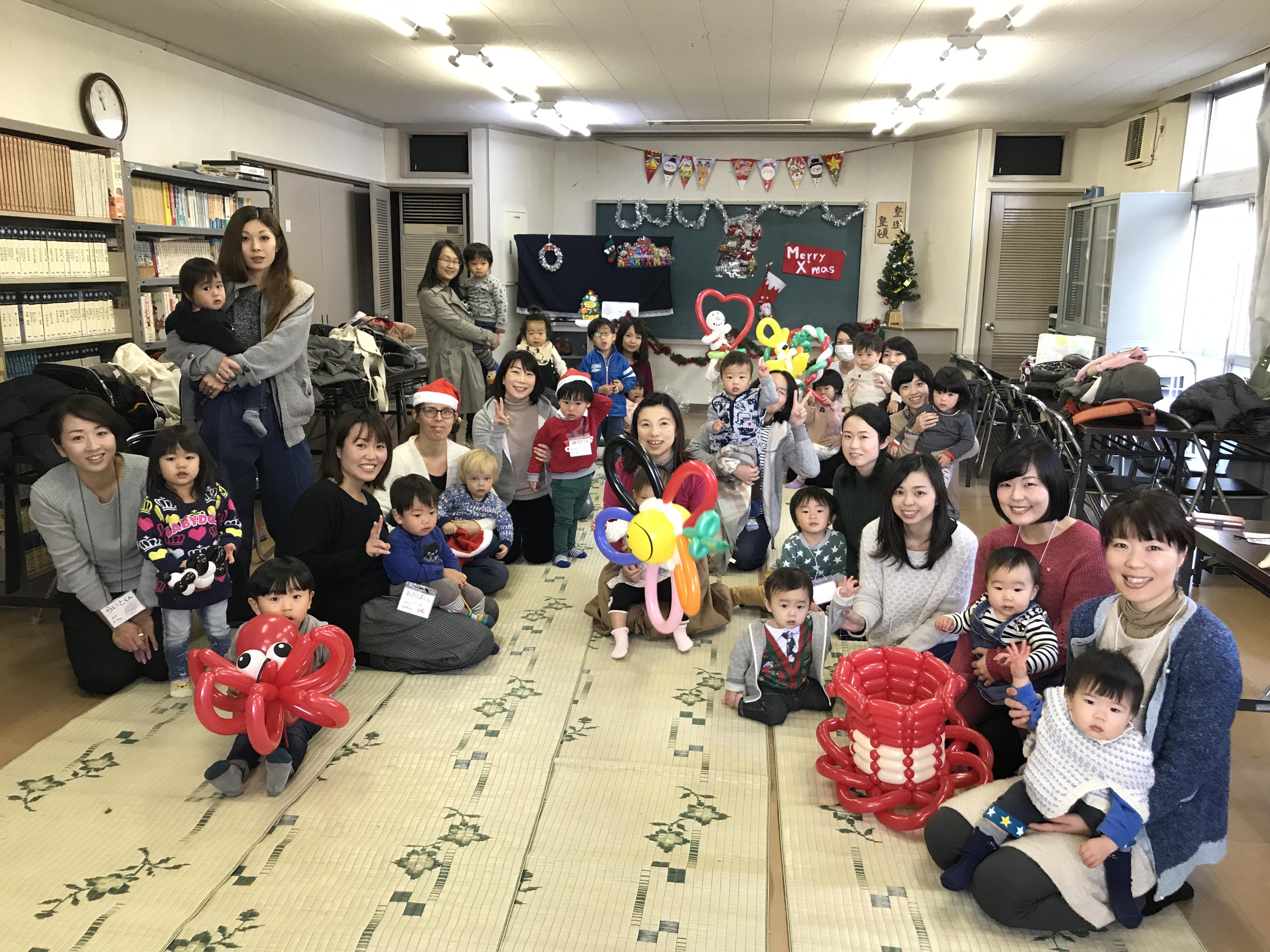 宇野学区おやこクラブさん〜2017.12.19〜